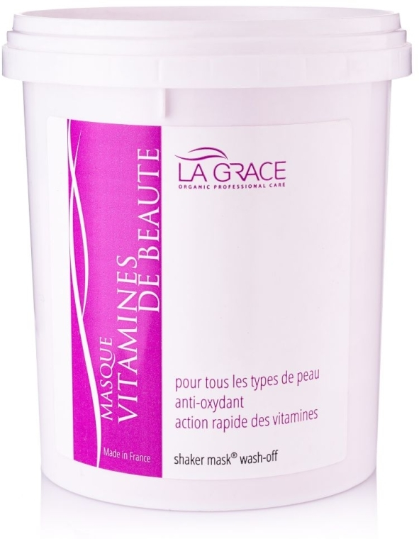 """Шейкерная маска-пудра """"Витамины Красоты"""" - La Grace Masque Vitamines De Beaute"""