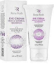 Духи, Парфюмерия, косметика Грязевой крем вокруг глаз - Rena Rosh Mud & Mineral Eye Cream