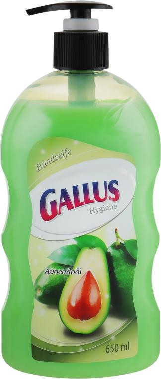 """Жидкое мыло для рук """"Авокадо"""" - Gallus Soap"""