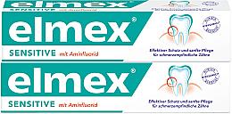 Духи, Парфюмерия, косметика Зубная паста от повышенной чувствительности зубов и кариеса 1+1 - Elmex Sensitive