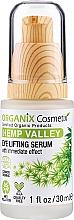 Духи, Парфюмерия, косметика Лифтинг-сыворотка для глаз - Organix Cosmetix Hemp Valley Eye Lifting Serum
