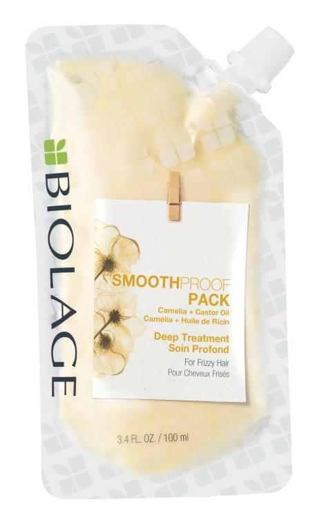 Маска глубокого действия для разглаживания волос - Biolage Smoothproof Pack For Frizzy Hair
