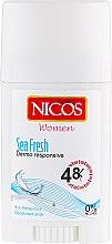 Духи, Парфюмерия, косметика Дезодорант-стик - Nicos Sea Fresh Deodorant-Stick
