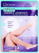 Духи, Парфюмерия, косметика РАСПРОДАЖА Патчи для ног - Qiriness Jambes Legeres Cool Mentol Leg Patches *