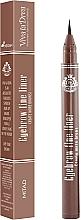 Духи, Парфюмерия, косметика Подводка для бровей - Viva la Diva Eyebrow Fine Liner Pen