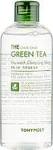 Духи, Парфюмерия, косметика Очищающая вода для лица - Tony Moly The Chok Chok Green Tea No-Wash Cleansing Water