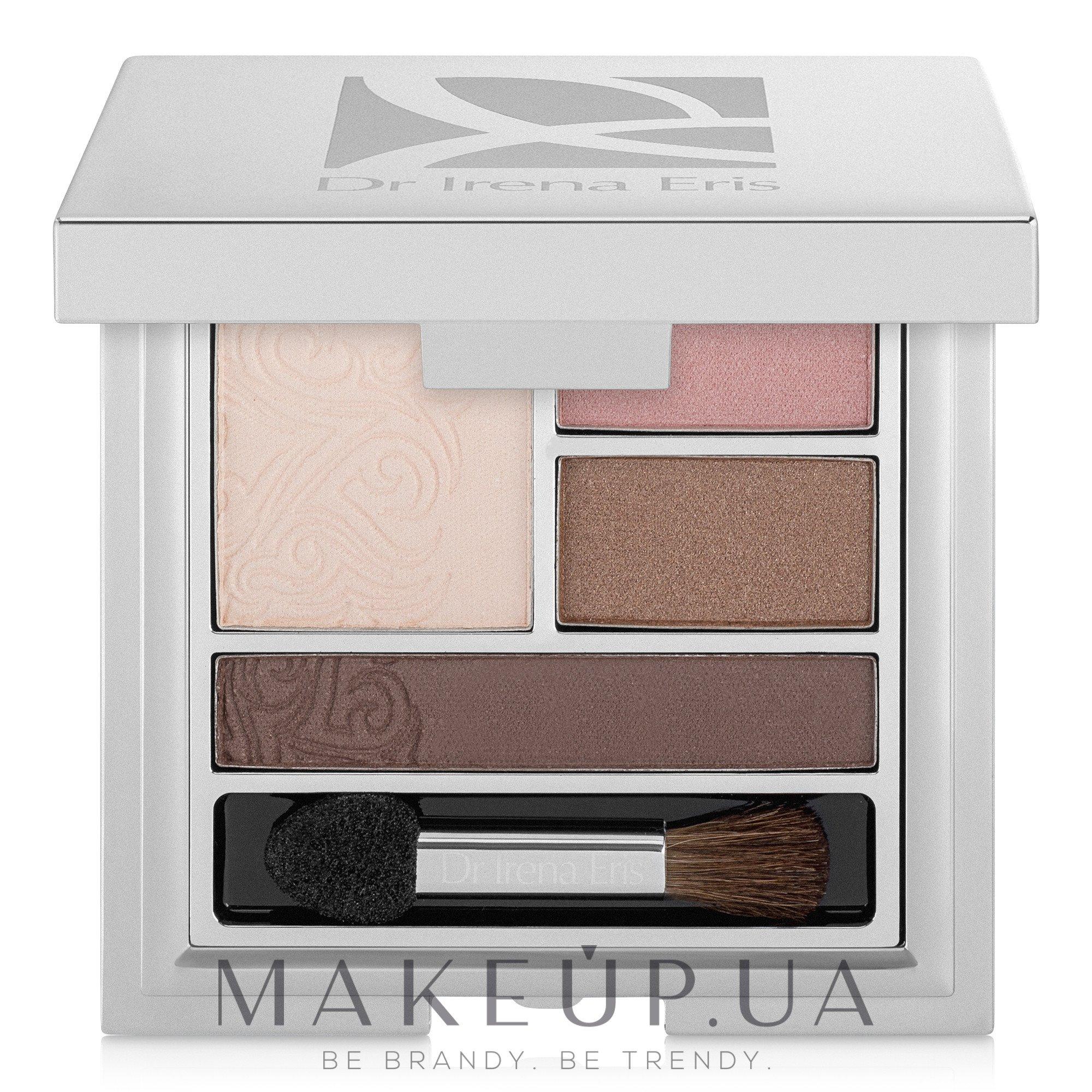 Палитра теней для век - Dr. Irena Eris Provoke 4 Eyeshadows Palette — фото 401 - Subtle Brown