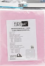 Духи, Парфюмерия, косметика Парикмахерская накидка 140х135см, розовая - Eurostil