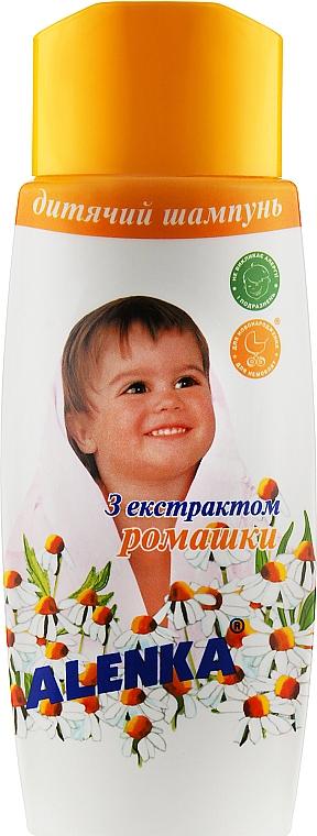 Детский шампунь с экстрактом ромашки - Alenka
