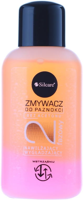 """Жидкость для снятия лака """"Семена персика и протеины шелка"""" - Silcare"""