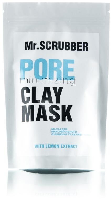 Маска для очистки и сужения пор лица - Mr.Scrubber Clay Mask Pore Minimizing