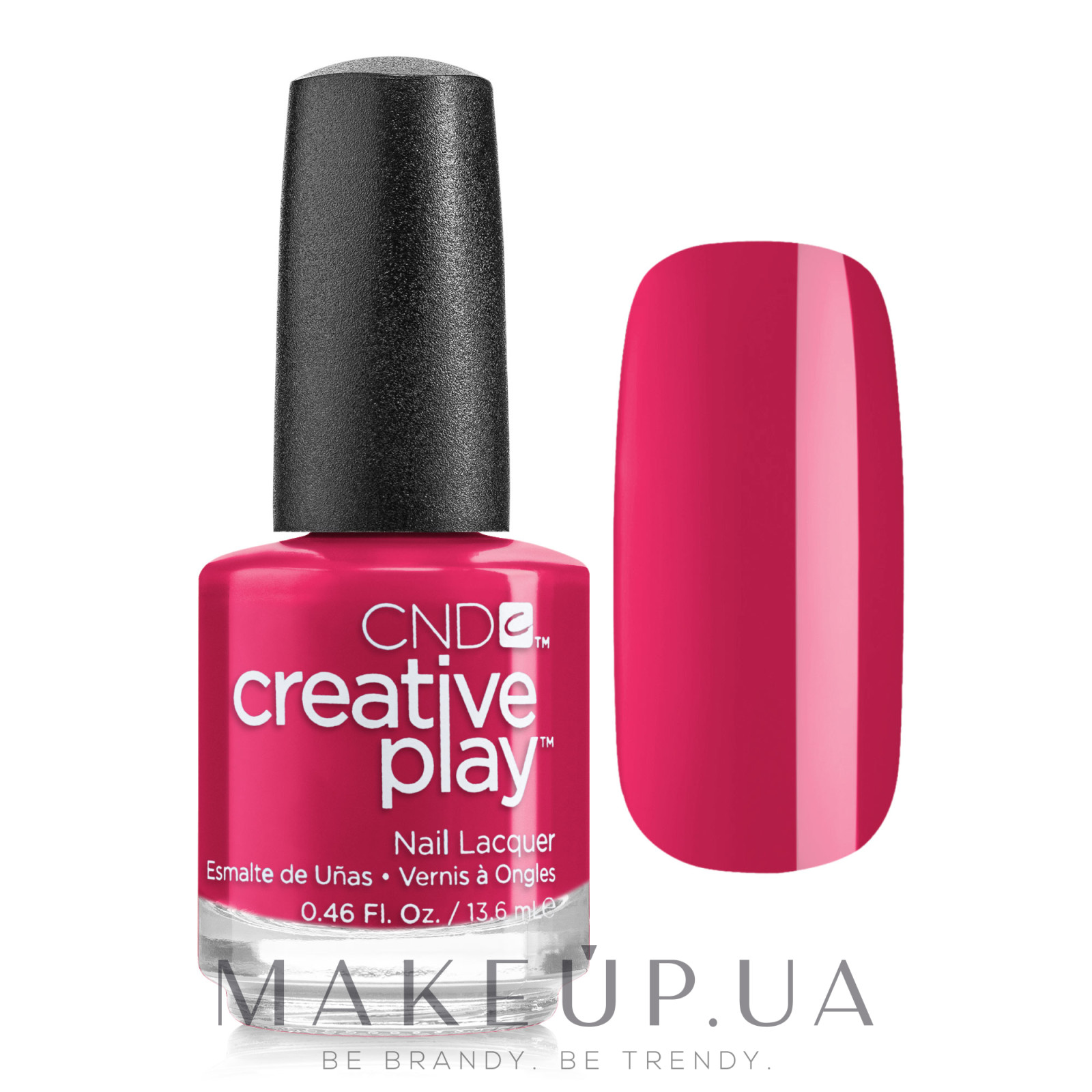 Лак для ногтей - CND Creative Play — фото 411 - Well Red