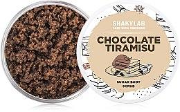 "Парфумерія, косметика Цукровий скраб для тіла ""Chocolate Tiramisu"" - SHAKYLAB Shugar Baby Hands Feet & Body Scrub"