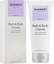 Духи, Парфюмерия, косметика Гель для душа - Marbert Bath & Body Classic Bath & Shower Gel