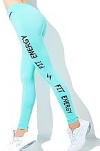 "Духи, Парфюмерия, косметика Леггинсы для женщин ""Fit Energy"", biscay green - Giulia"