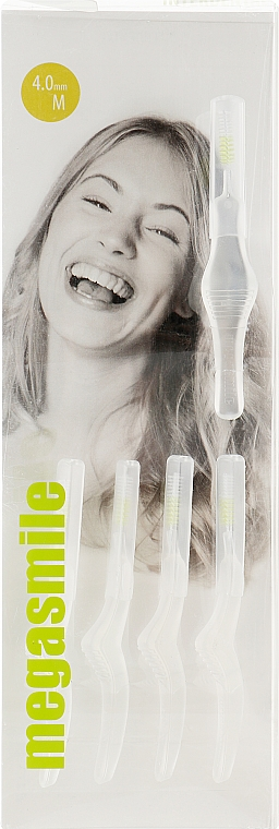 Набор щеток для межзубных промежутков M - Megasmile Interdental Brushes M