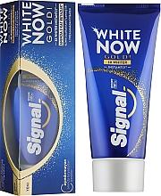 Духи, Парфюмерия, косметика Зубная паста отбеливающая - Signal White Now Gold Toothpaste