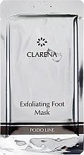Духи, Парфюмерия, косметика Эксфолиирующая маска для стоп - Clarena Exfoliating Foot Mask
