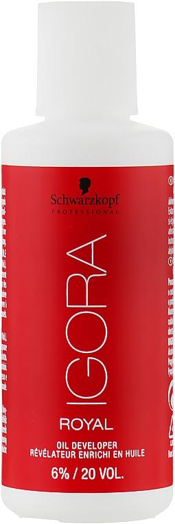 Лосьон-проявитель 6% - Schwarzkopf Professional Igora Royal Oxigenta