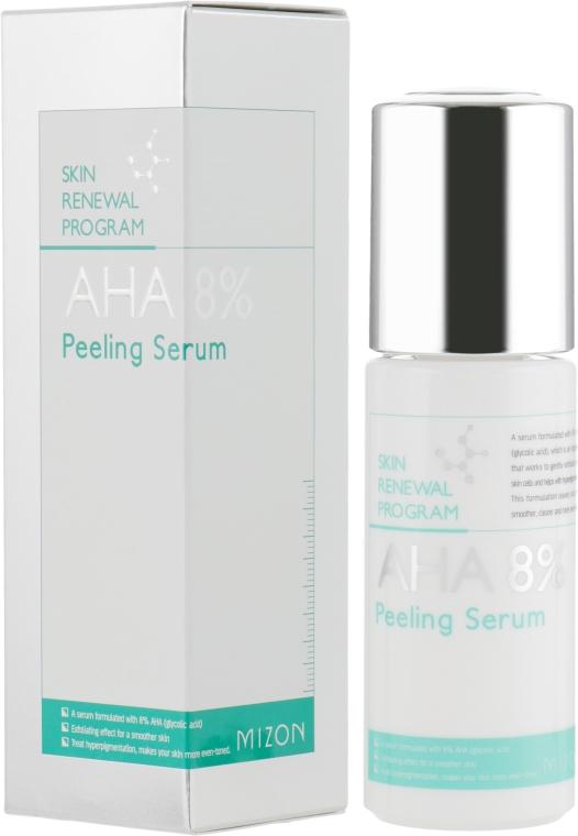 Сыворотка-пилинг для лица с AHA кислотами - Mizon Aha 8 Peeling Serum