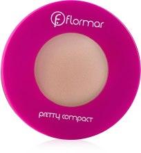 Духи, Парфюмерия, косметика Компактная пудра для лица - Flormar Pretty Compact Powder