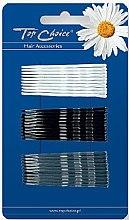 Духи, Парфюмерия, косметика Заколка для волос 23729, черная, белая и серая - Top Choice