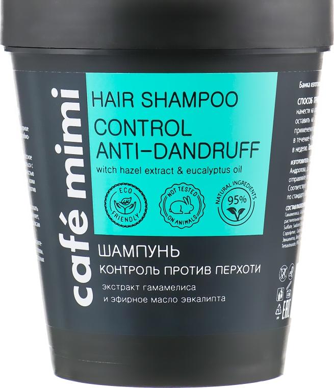 """Шампунь """"Контроль против перхоти"""" для всех типов волос - Cafe Mimi Hair Shampoo Anti-Dandruff — фото N1"""