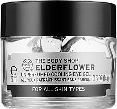 Духи, Парфюмерия, косметика Восстанавливающий гель для кожи вокруг глаз «Цветы бузины» - The Body Shop Elder Flower