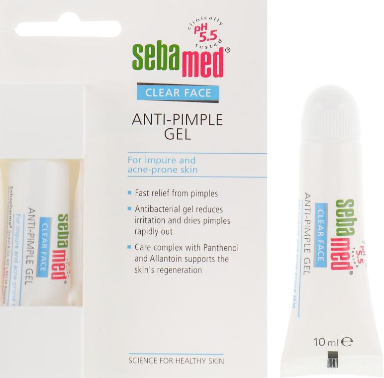 Очищающий гель для лица против прыщей - Sebamed Clear Face anti-Pimple Gel Stick