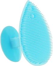 Парфумерія, косметика Масажер для вмивання й очищення шкіри обличчя, блакитний - Omkara