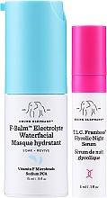 Духи, Парфюмерия, косметика Набор - Drunk Elephant T.L.C. F-Balm Electrolyte Waterfacial Midi (mask/15ml + ser/3ml)