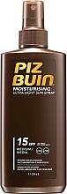 Духи, Парфюмерия, косметика Легкий спрей для загара SPF 15 - Piz Buin Moisturising Spray