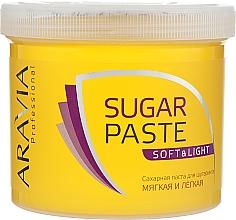 "Духи, Парфюмерия, косметика Сахарная паста для депиляции ""Мягкая и легкая"" - Aravia Professional Sugar Paste Soft and Light"