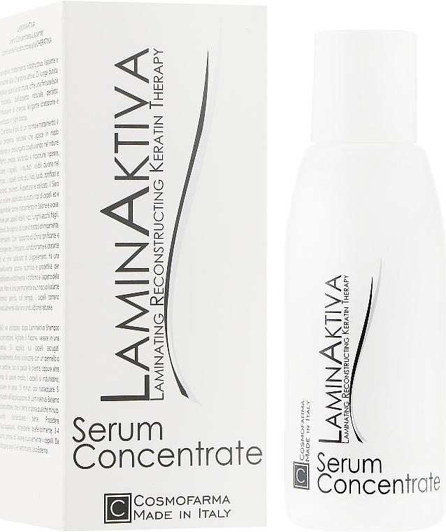Восстанавливающая и ламинирующая сыворотка с кератином - Cosmofarma LaminAktiva Keratin Smooth & Straight