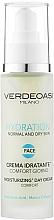 Духи, Парфюмерия, косметика Увлажняющий дневной крем для нормальной и сухой кожи лица - Verdeoasi Hydration Moisturizing Day Cream Comfort