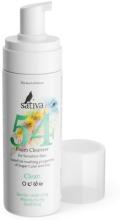 Духи, Парфюмерия, косметика Пенка очищающая № 54 для чувствительной кожи лица - Sativa Foam Cleanser For Sensitive Skin