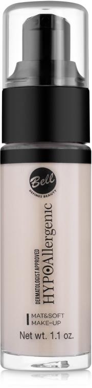 Тональный флюид матирующий - Bell HypoAllergenic Mat & Soft Make-Up