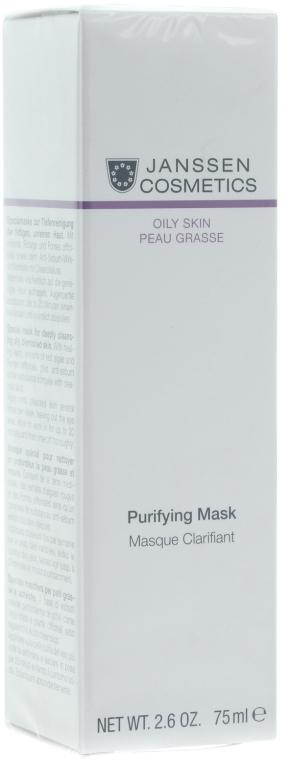Себорегулирующая очищающая маска - Janssen Cosmetics Purifying Mask