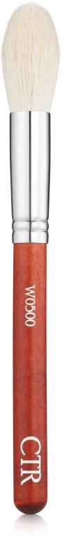 Кисть для румян W0500, ворс козы - CTR