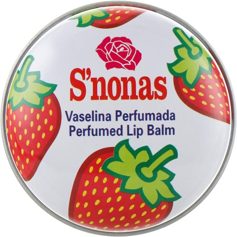 """Бальзам для губ """"Клубника"""" - S'nonas"""