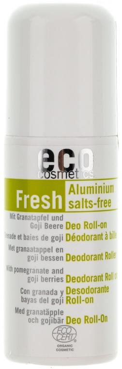 Дезодорант ролл с экстрактом граната и ягод годжи - Eco Cosmetics