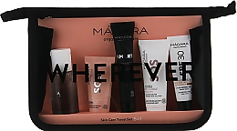 "Духи, Парфюмерия, косметика Дорожный набор ""Wherever"" - Madara Cosmetics Fab Skin Jet Set(micel/water/50/ml + mask/12,5/ml + cr/15/ml + cr/20/ml + cr/10ml)"