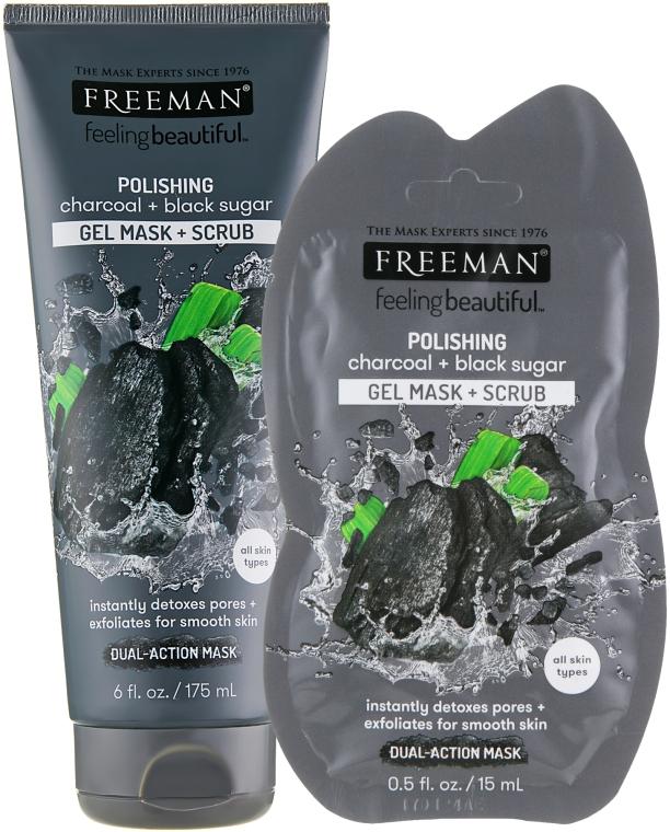 "Маска для лица ""Черный Сахар"" - Freeman Feeling Beautiful Mask"