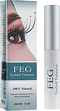 Духи, Парфюмерия, косметика Сыворотка для роста ресниц - Feg Eyelash Enhancer