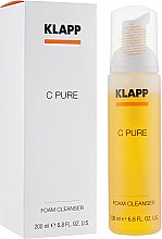 Духи, Парфюмерия, косметика Очищающая пенка с витамином С - Klapp C Pure Foam Cleanser