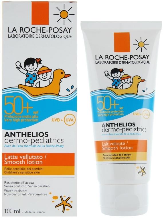 Солнцезащитное молочко SPF50+ для чувствительной кожи детей - La Roche-Posay Anthelios Dermo-Pediatrics Lotion SPF50+