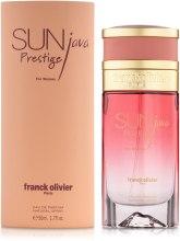 Духи, Парфюмерия, косметика Franck Olivier Sun Java Prestige For Women - Парфюмированная вода