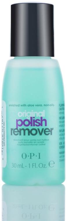 Рідина для зняття лаку з алое для натуральних нігтів - O. P. I Polish Remover — фото N2