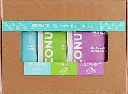 Набор - Joko Blend Coconut Set (scrub/3x50g) — фото N1