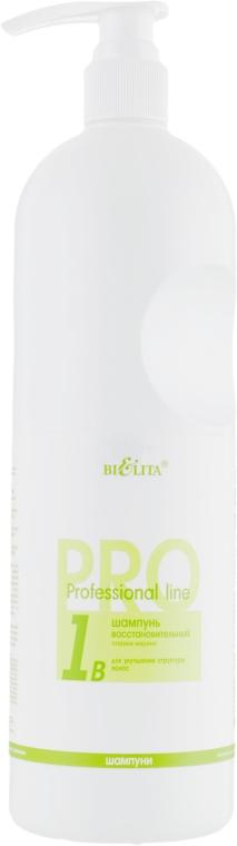 "Шампунь восстанавливающий ""Плазма Марино"" - Bielita Professional Shampoo"